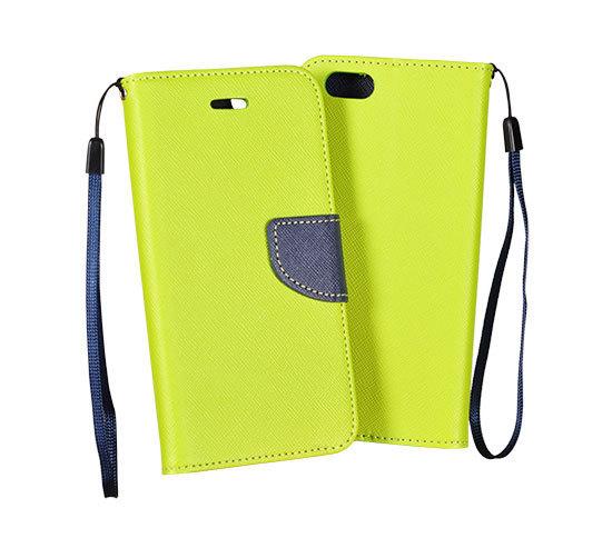 Fancy Diary flipové pouzdro Huawei Y3 II lime/navy