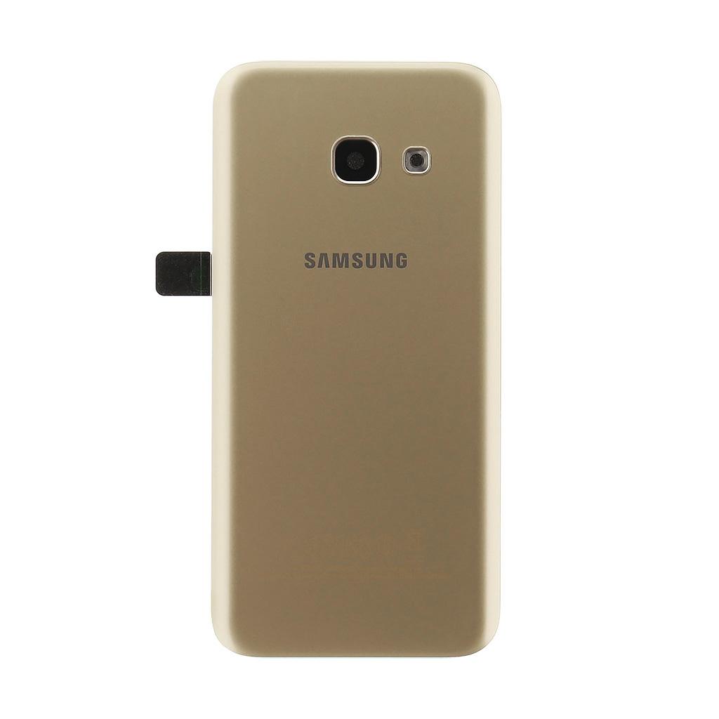 Kryt baterie GH82-13636B Samsung Galaxy A3 2017 gold (service pack)