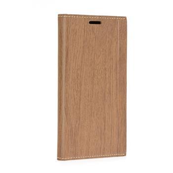 Forcell Wood flipové pouzdro SAMSUNG GALAXY J3 2016 brown