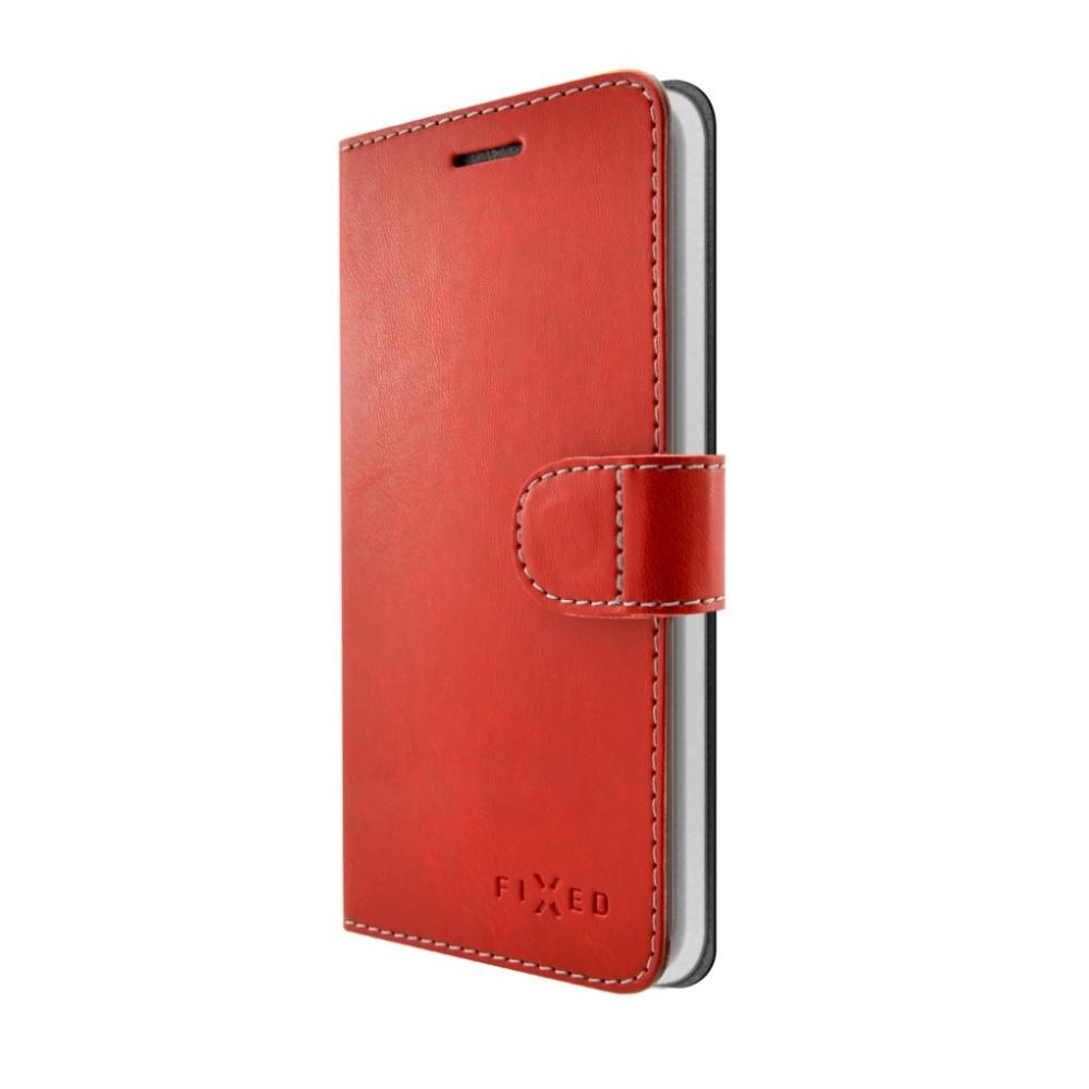 FIXED FIT flipové pouzdro Huawei Mate 10 Lite red