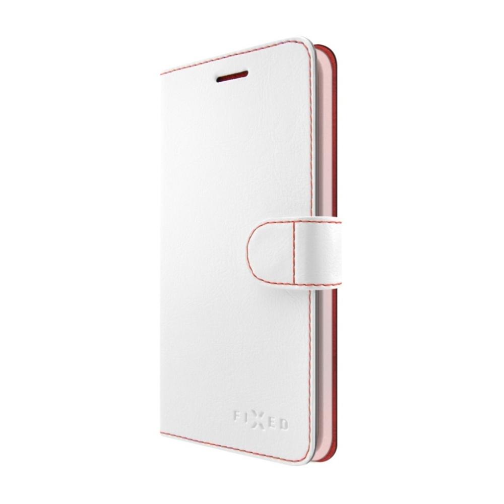 FIXED FIT flipové pouzdro Huawei Mate 10 Lite white