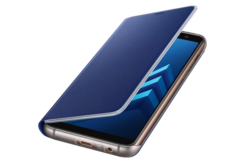 Samsung NEON pouzdro flip EF-FA530PLE Samsung Galaxy A8 2018 blue
