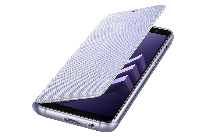 Samsung NEON pouzdro flip EF-FA530PVE Samsung Galaxy A8 2018 orchid gray