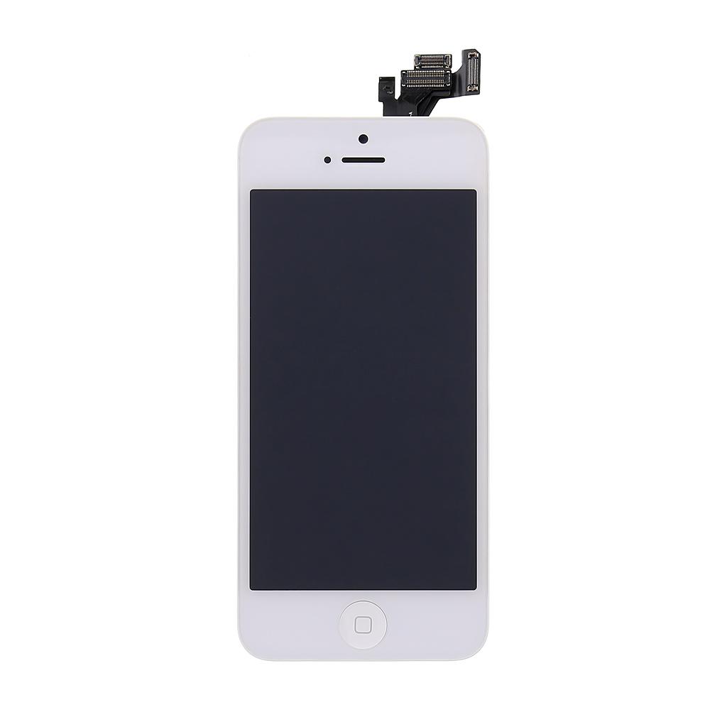 LCD + dotyková deska Apple iPhone 5, white vč. Small Parts