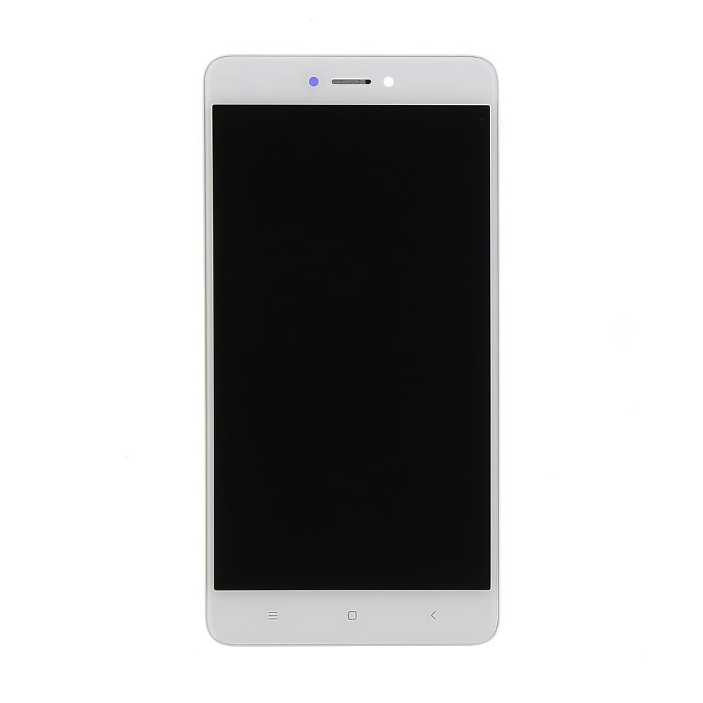 LCD + dotyk + přední kry Xiaomi RedMi Note 3 SE, white