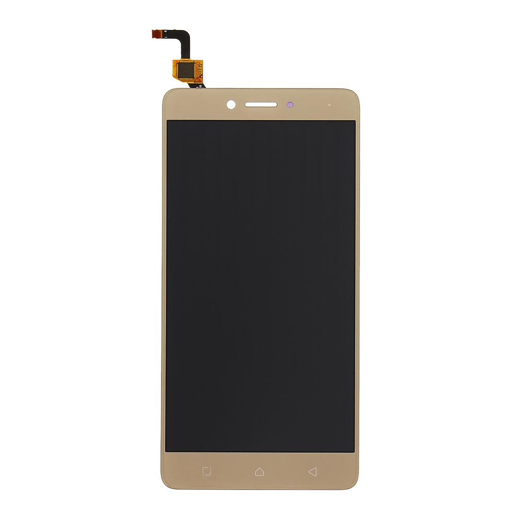 LCD + dotyková deska + rámeček Lenovo K6, gold