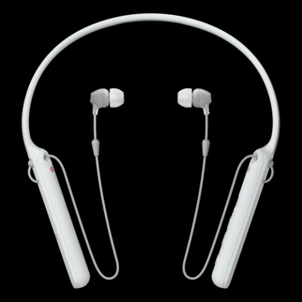 SONY WI-C400W bezdrátová sluchátka Bluetooth® a NFC white