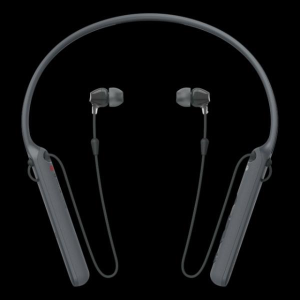 SONY WI-C400B bezdrátová sluchátka Bluetooth® a NFC black