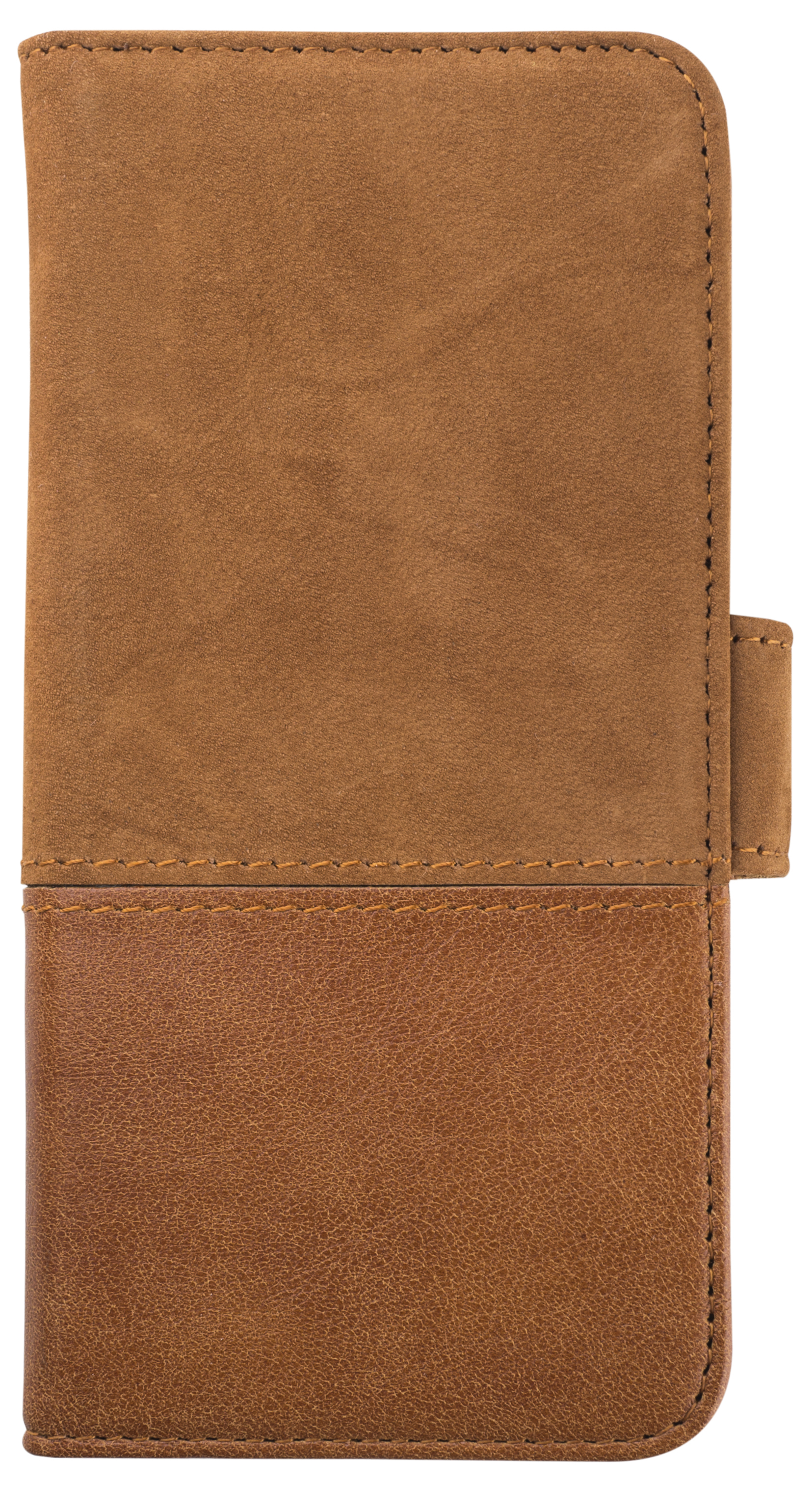 HOLDIT Wallet magnet pouzdro flip Samsung Galaxy S8 brown leather/suede