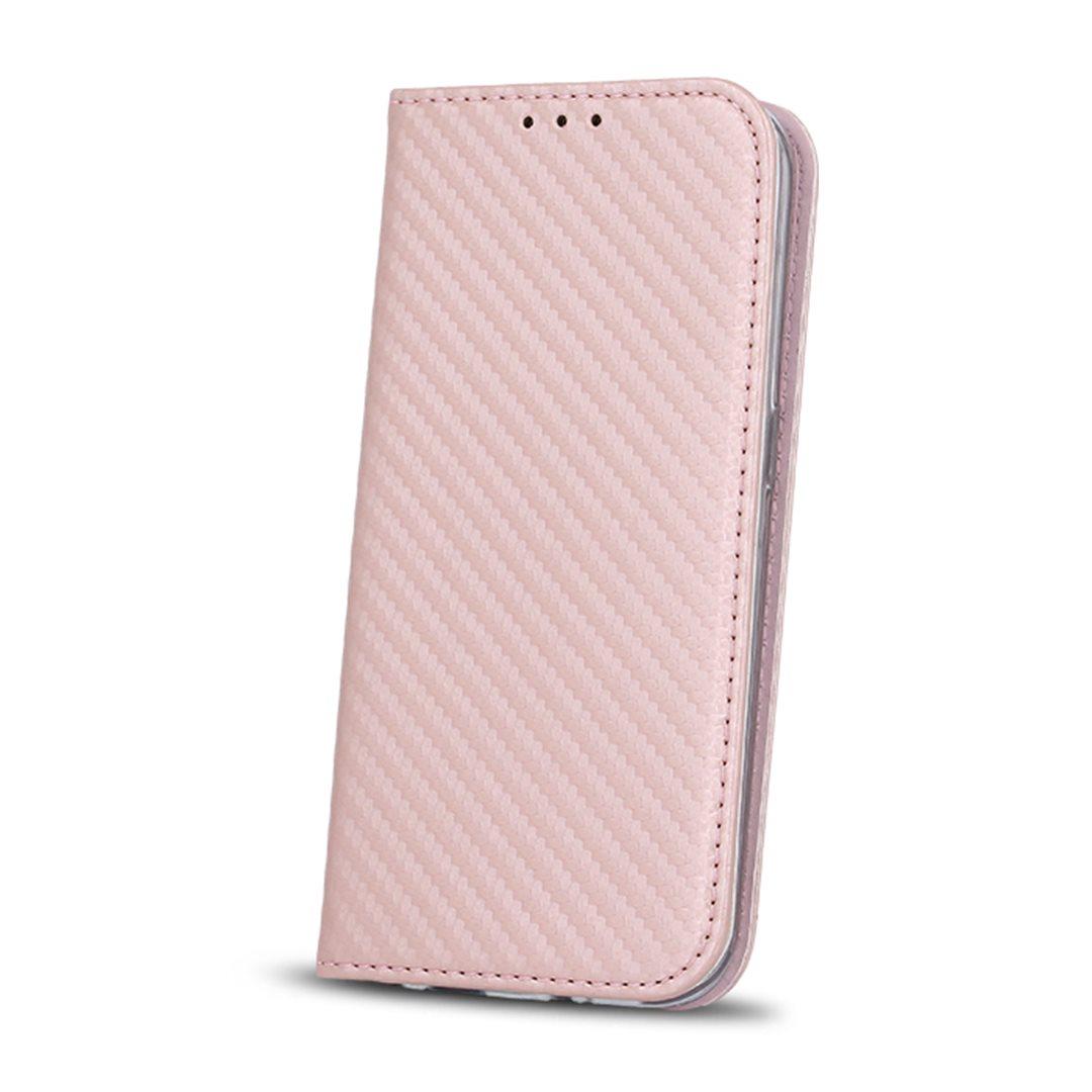 Smart Carbon flipové pouzdro Nokia 6 pink