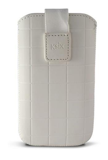 KSIX ROMA univerzální zasouvací pouzdro white velikost L