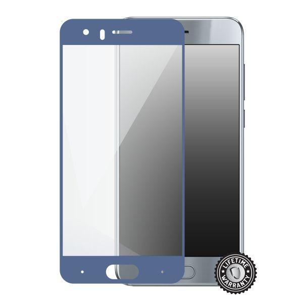 Screenshield tvrzené sklo Huawei Honor 9, blue full COVER