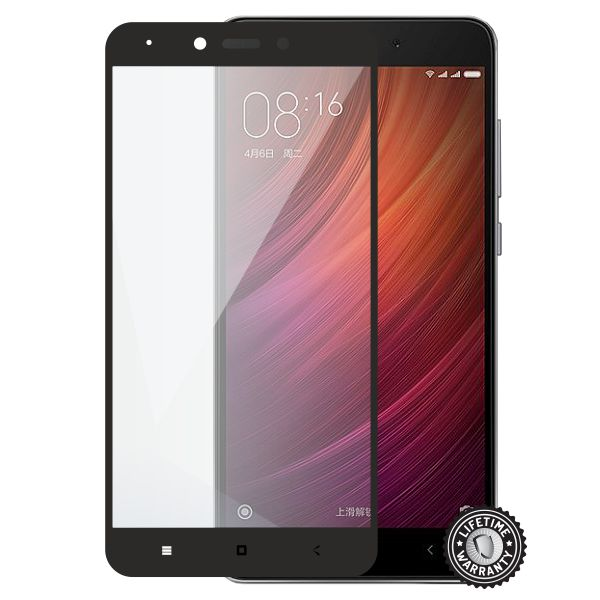 Screenshield tvrzené sklo Xiaomi Redmi Note 4 full COVER, black