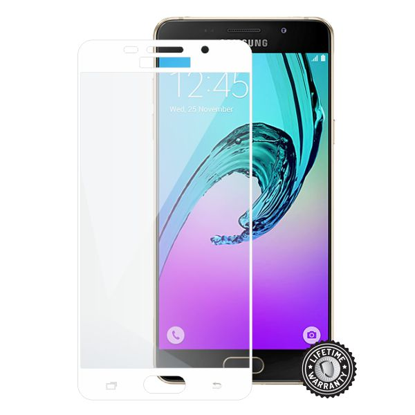 Screenshield tvrzené sklo Samsung Galaxy A5 (2016) full COVER, white