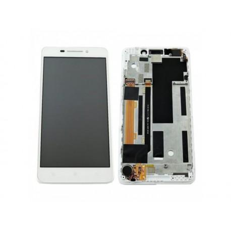 LCD + dotyková deska + rámeček Lenovo A5000, white