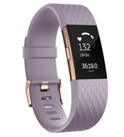 Fitness náramek Fitbit Charge 2 Lavender Rose Gold - Small