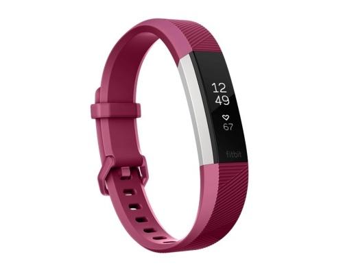 Fitness náramek Fitbit Alta HR Fuchsia - Large