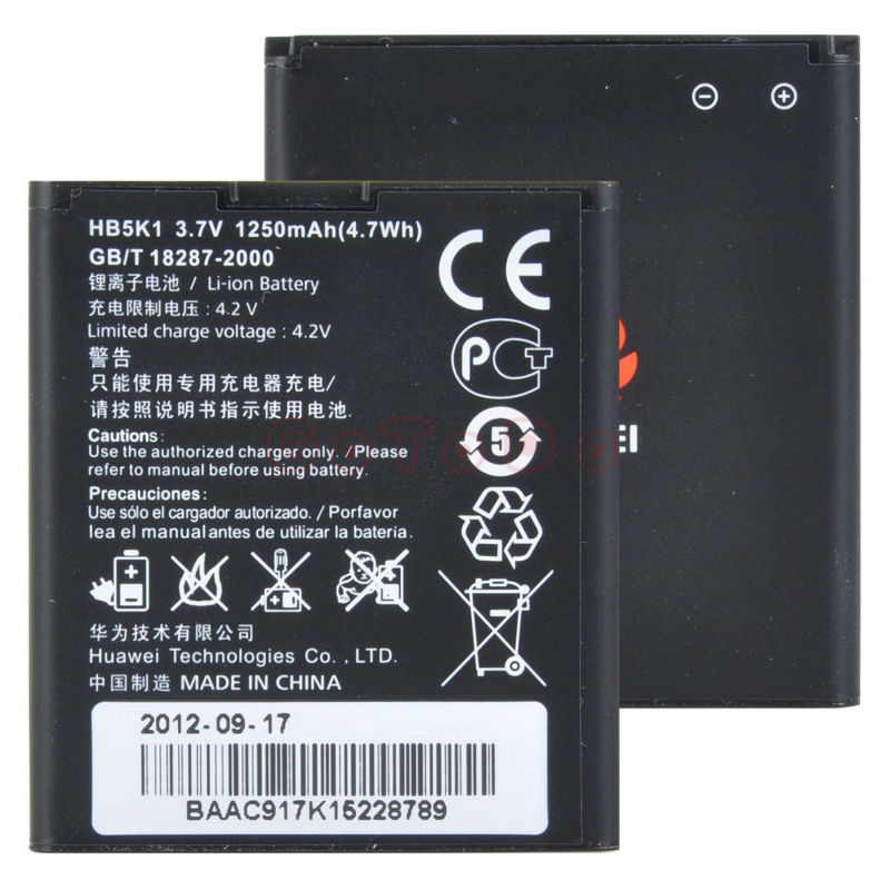 Baterie Huawei HB5K1 Li-Ion 1250mAh bulk