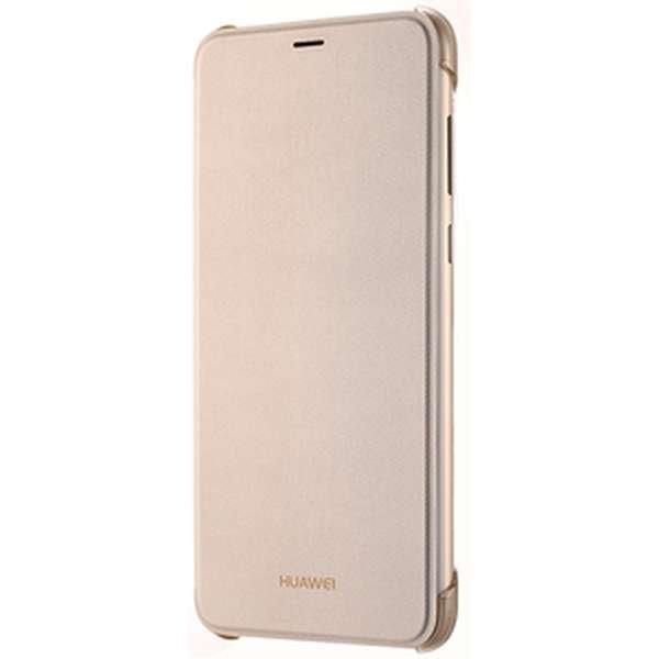 Huawei Original flipové pouzdro Huawei P Smart gold