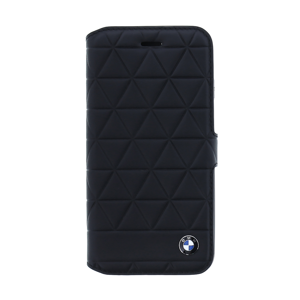 BMW Hexagon pouzdro flip BMFLBKI8HEXBK Apple iPhone 8 black
