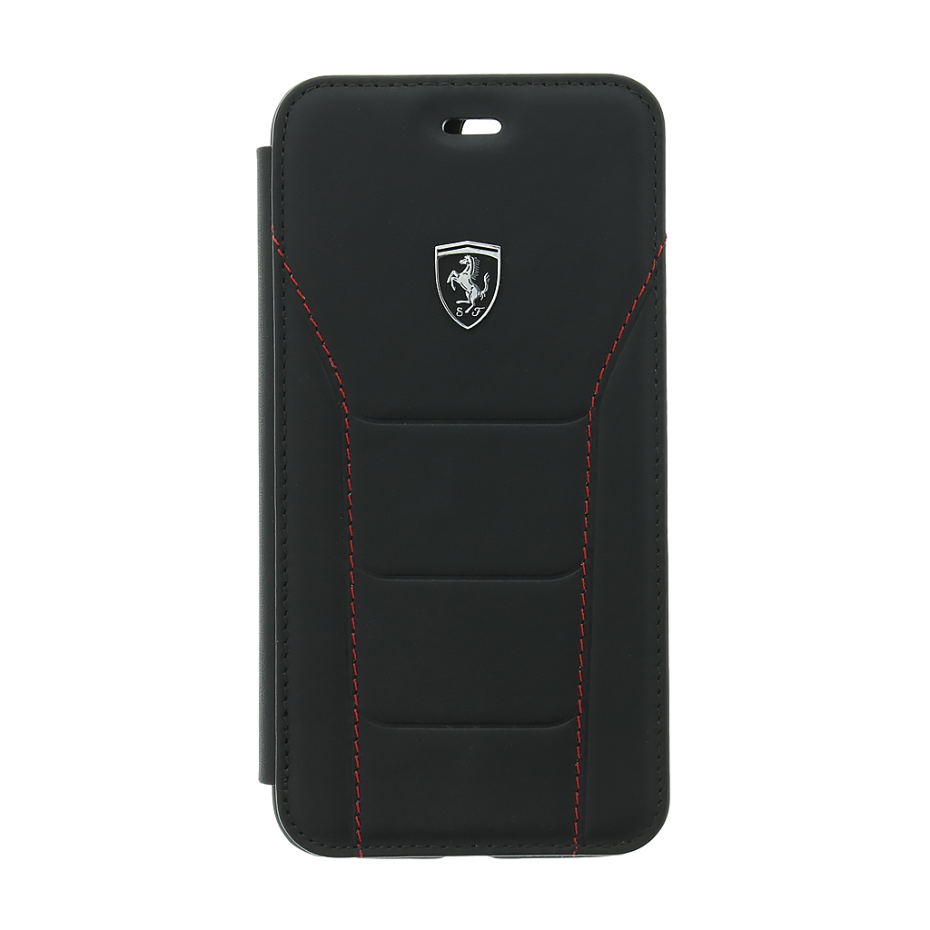 Ferrari Heritage 488 FEH488FLBKI8LBK pouzdro flip Apple iPhone 7/8 Plus black