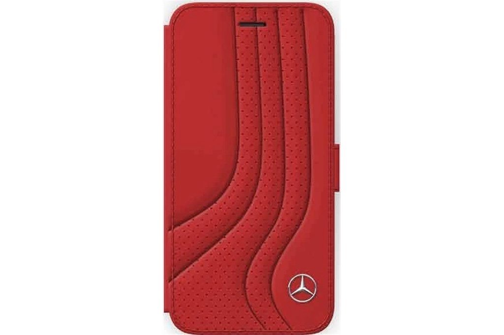 Mercedes Bow II MEFLBKI8PCSRE pouzdro flip Apple iPhone 8 red