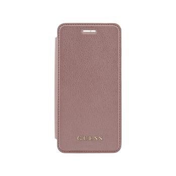 Guess IriDescent pouzdro flip GUFLBKI8IGLTRG Apple iPhone 7/8 rose gold