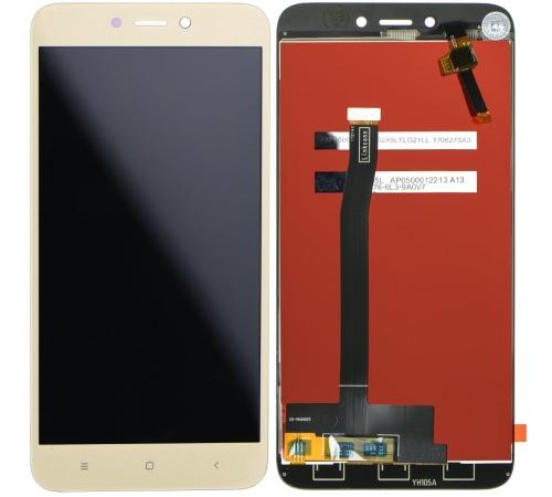 LCD + dotyková deska Xiaomi Redmi 4X, gold OEM