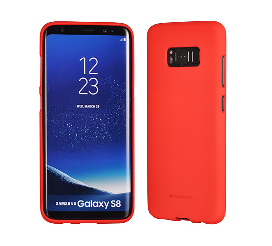 Pouzdro Mercury Soft feeling Samsung Galaxy J5 2017, red