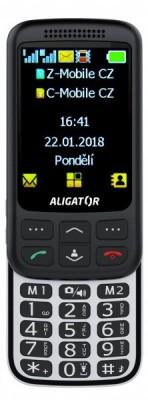 Seniorský mobilní telefon Aligator VS900
