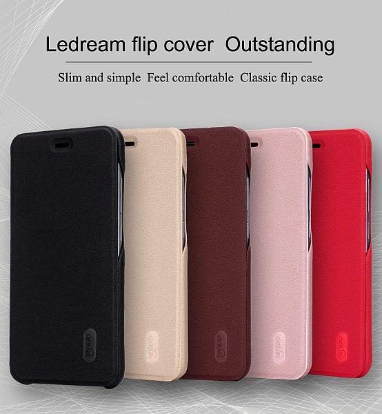 Lenuo Ledream pouzdro flip Xiaomi Redmi Note 5A Prime rose