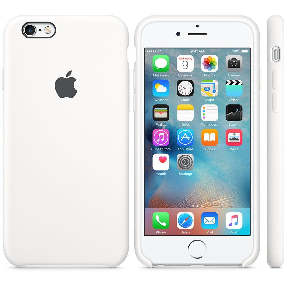 Originální kryt Apple iPhone 6s, withe