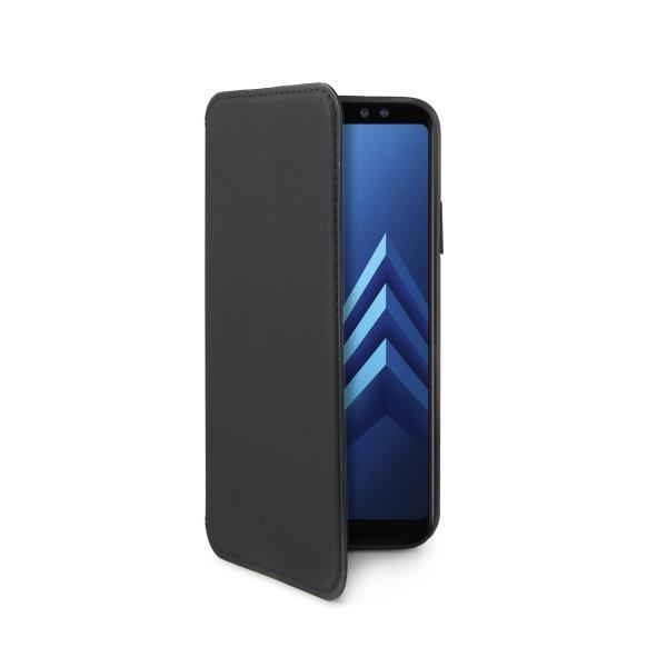 CELLY Prestige pouzdro flip Samsung Galaxy A8 Plus 2018 black
