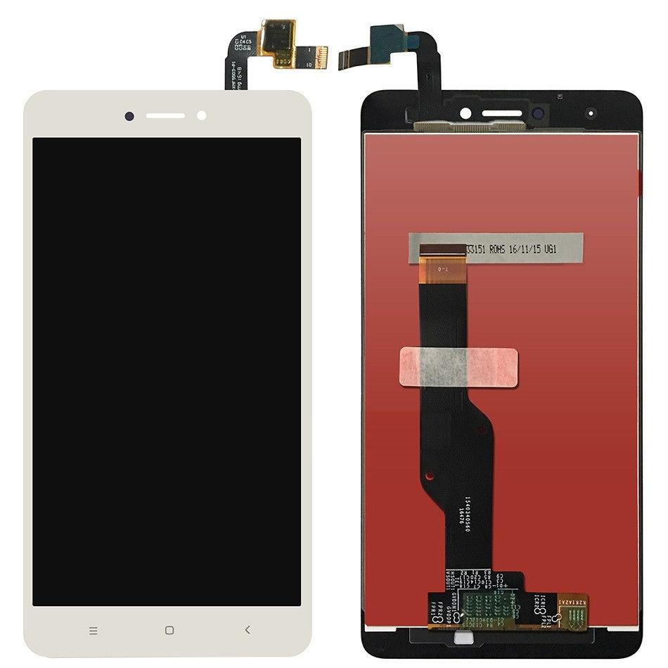 LCD + dotyk + rámeček pro Xiaomi Redmi 4X, white (OEM)