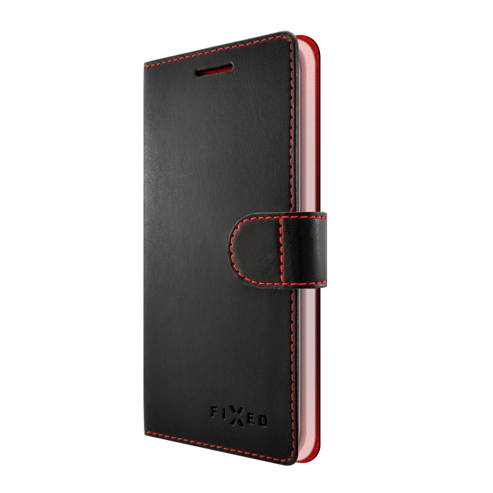 FIXED FIT flipové pouzdro Lenovo K8 Plus black