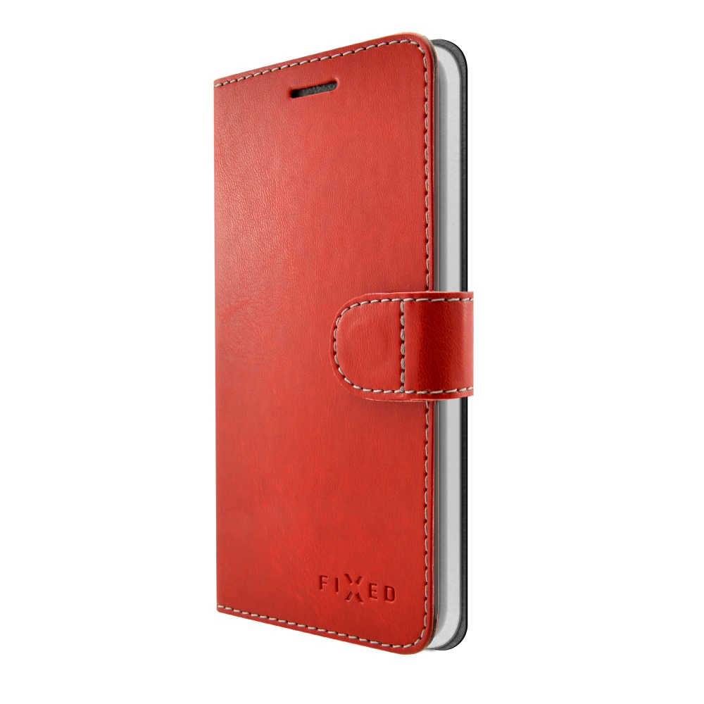 FIXED FIT flipové pouzdro Lenovo K8 red