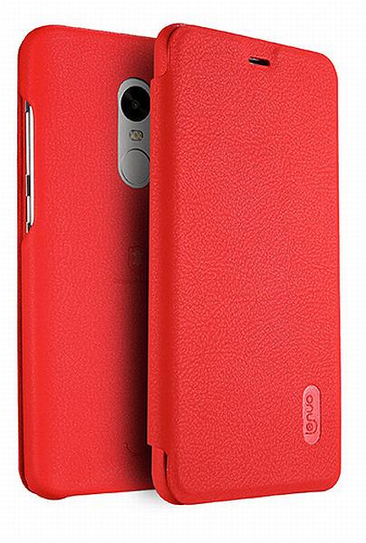 Lenuo Ledream pouzdro flip Xiaomi Redmi Note 4 Global red