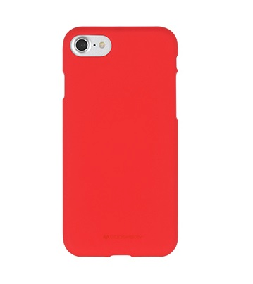 Pouzdro Mercury Soft feeling Apple iPhone 5/5s/SE, red