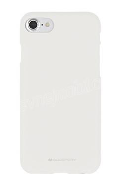 Pouzdro Mercury Soft feeling Apple iPhone 5/5s/SE, white