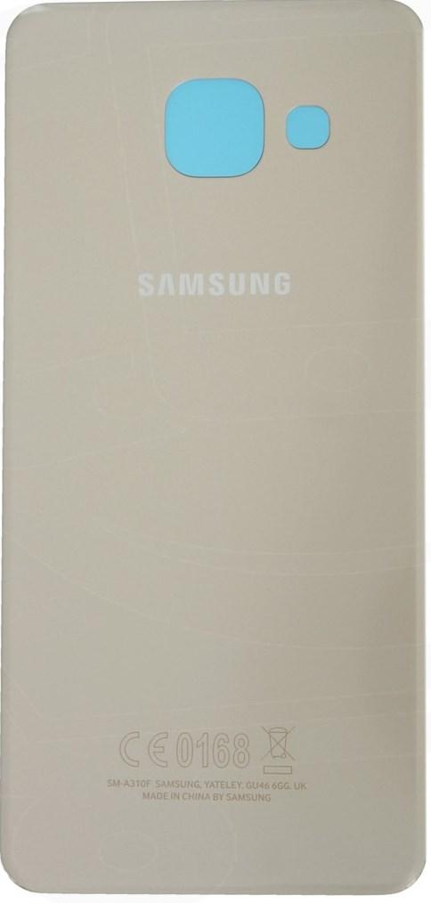 Kryt baterie GH82-11093A Samsung Galaxy A3 2016 gold (Service Pack)