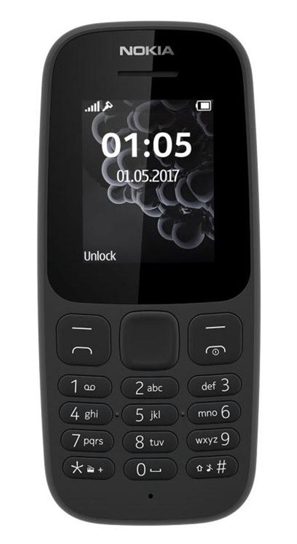 Nokia 105 2017 Dual SIM Black