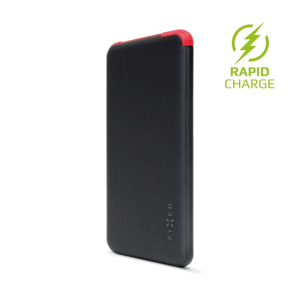 Powerbanka FIXED Zen Slim 5000 mAh, black