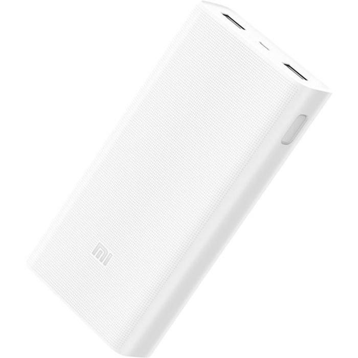 PowerBank Xiaomi PLM02ZM Mi 2 10000mAh, white