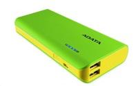 PowerBank ADATA PT100 10000mAh, green yellow