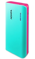 PowerBank ADATA PT100 10000mAh, blue pink