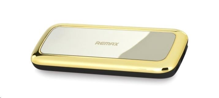 PowerBank REMAX 5500mAh Miror line, gold