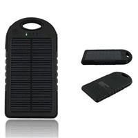 PowerBank REMAX 5000 mAh - solární, black