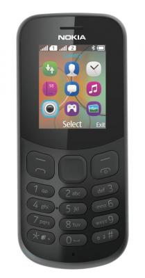 Mobilní telefon Nokia 130 2017 Single Sim Black