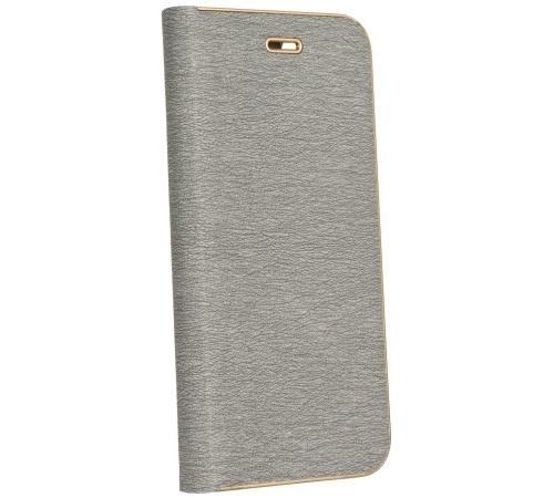 Forcell Luna Book pouzdro flip Xiaomi Redmi 4X silver
