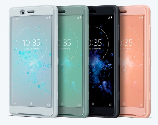 Sony Style Cover Touch SCTH50 pouzdro flip Sony Xperia XZ2 Compact grey